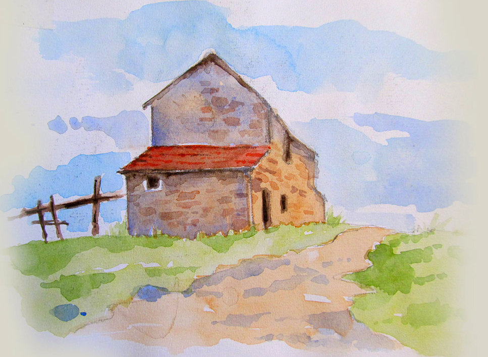 Old-House-Watercolor-Sketchbook-Page
