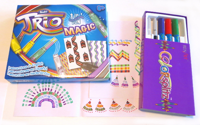 trio magic colorsplitz markers