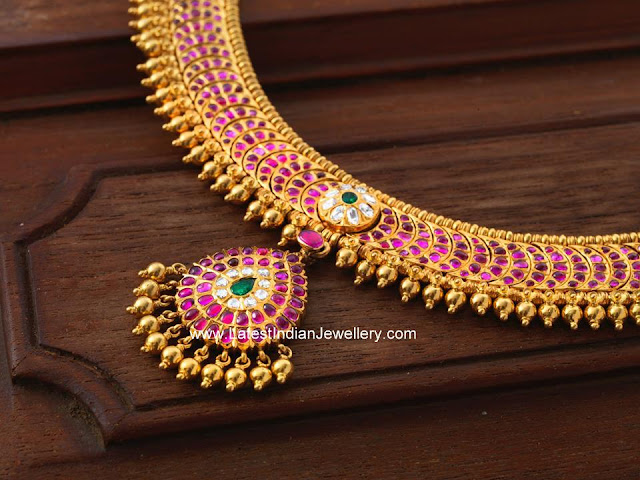 Ruby Addigai Necklace