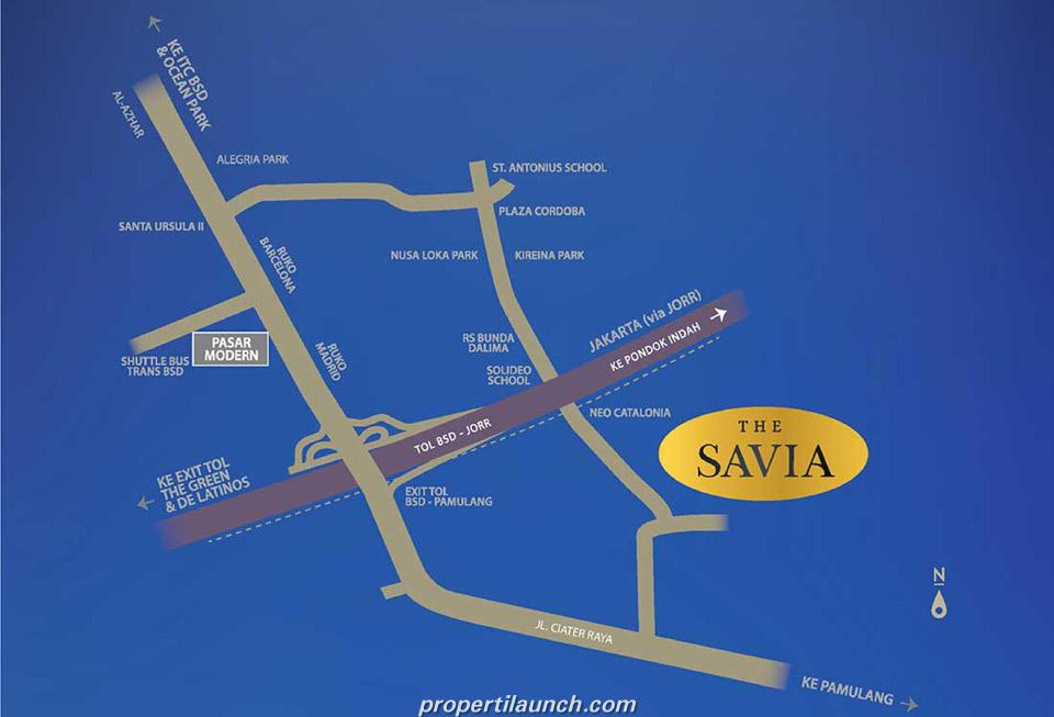 Lokasi Savia BSD