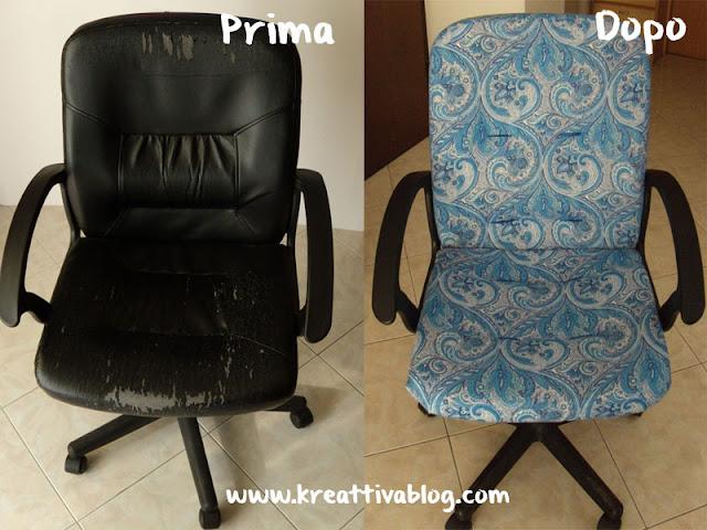 Come rinnovare una sedia imbottita kreattivablog - Tappezzare sedia costo ...