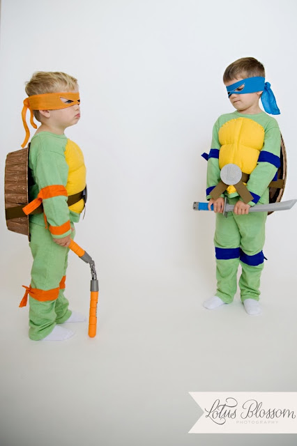 Teenage Mutant Ninja Turtle Costume by The Scrap Shoppe