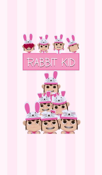 rabbit kid