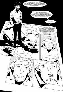 """""""Atraco a mano alzada"""" de Lundi y Javier Ara."""