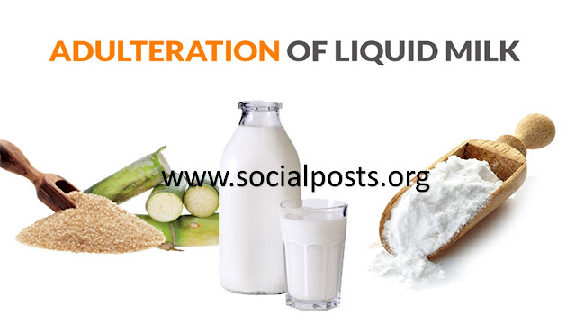 Common Food adulteration Examples