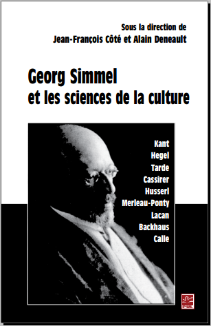 Livre : Georg Simmel et les sciences de la culture - Sociologie contemporaine PDF
