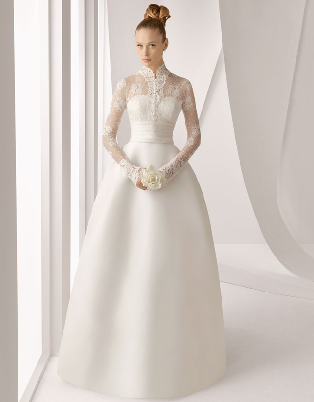 Dress of The Week + Winter Wedding Dresses - Belle The Magazine