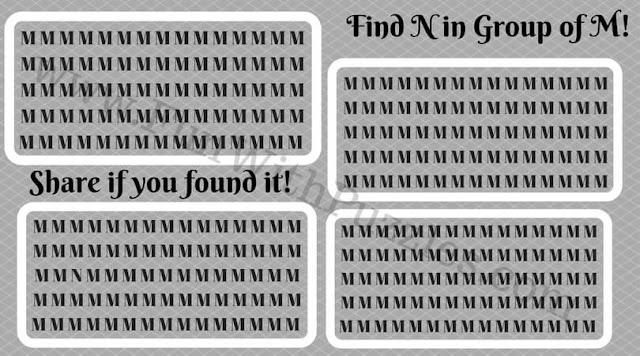 Find the hidden letter N in the picture