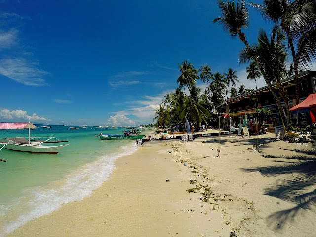 alona beach filipinas