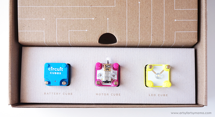 Encourage STEM at Home with Circuit Cubes