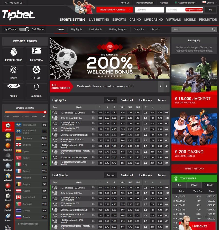 Tipbet Sportsbook