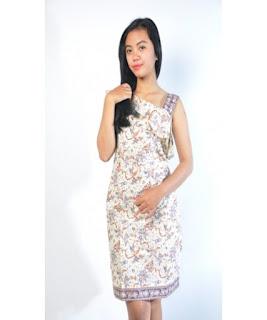 harga dress batik pendek