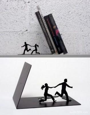 Sujetador diseño de libros
