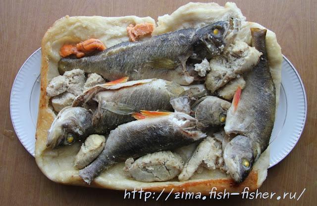 приманка для рыбы с яйцом и мукой