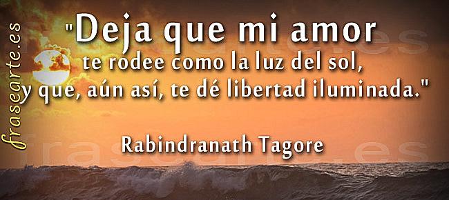Frases de amor de Rabindranath Tagore