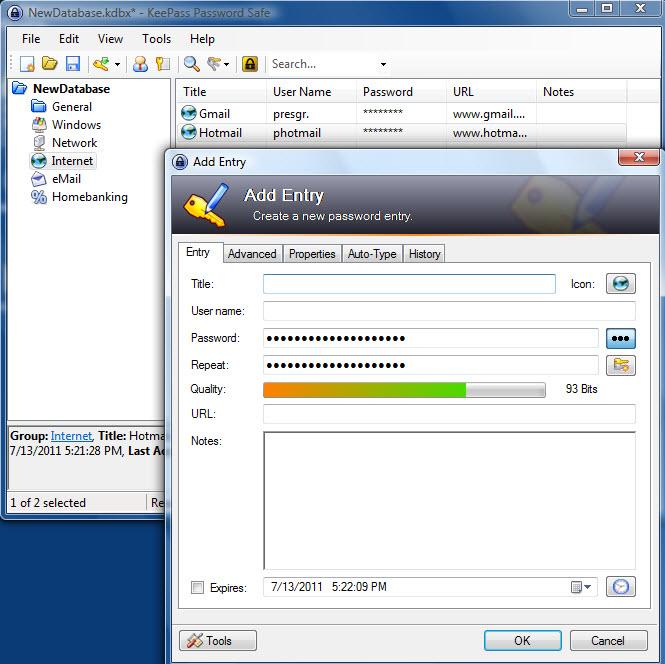 Download KeePass Password Keeper