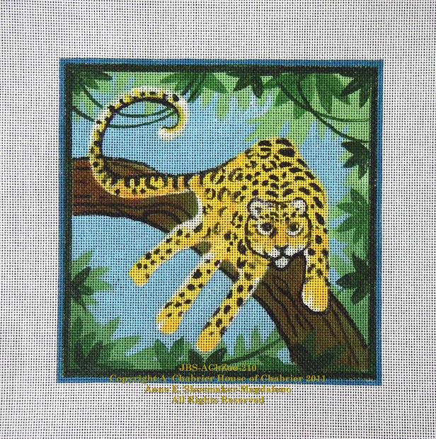 Zoo Animal Handprint Art