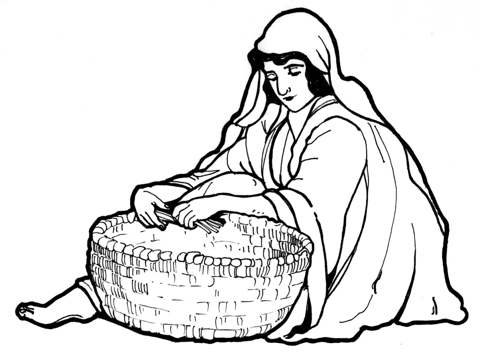 Weaving A Reed Basket