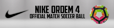 PES 2013 Nike Ordem 4 Official Match Soccer Ball & Nike Ordem CONCACAF Champions League 16-17 by Goh125