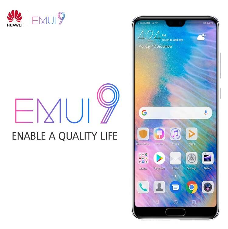 Huawei Rolls Out EMUI 9.0
