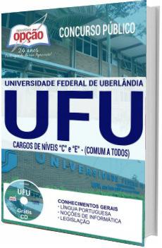 Apostila concurso UFU 2017 Todos os Cargos