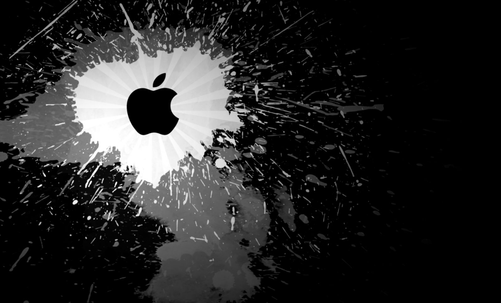 Dark Abstract Apple Mac Wallpaper Wallpapers Base