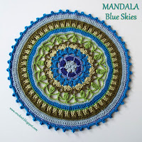 how to crochet, free crochet patterns, mandalas,