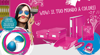 Logo Concorso ''Wow: Il tuo mondo a colori'' e vinci 26 occhiali da sole Ray-Ban Aviator