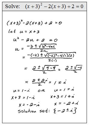 Openalgebra Com U Substitution