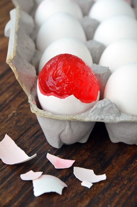 Jell-O Eggs by Just a Taste