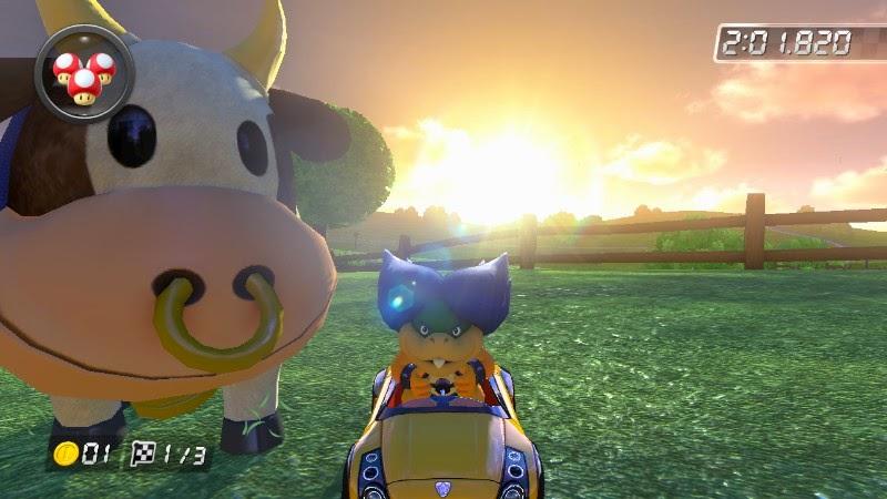 Ludwig Von Koopa cow Mario Kart 8