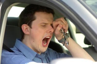 la falta de sueño causa accidentes