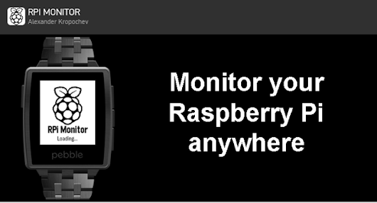 RPi-Monitor-Peeble: RPi-Monitor is now available on Pebble Smart Watch