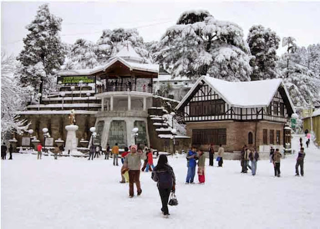 7 Most Popular places in shimla, List of best places in shimla