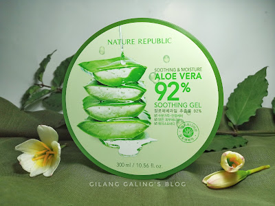 Nature Republic Aloe Vera 92 Soothing Gel Review