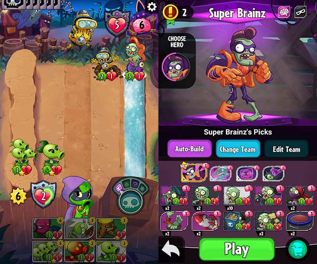 Plants vs. Zombies Heroes v1.8.23 Apk Mod [Soles Ilimitados]