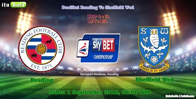 Prediksi Reading Vs Sheffield Wed - ituBola