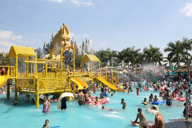 Suoi Tien Theme Park - an amazing entertainment area 2
