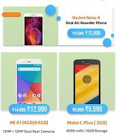 FLIPCART - 2018 Mobile Bonanza Sale 3 to 5 January