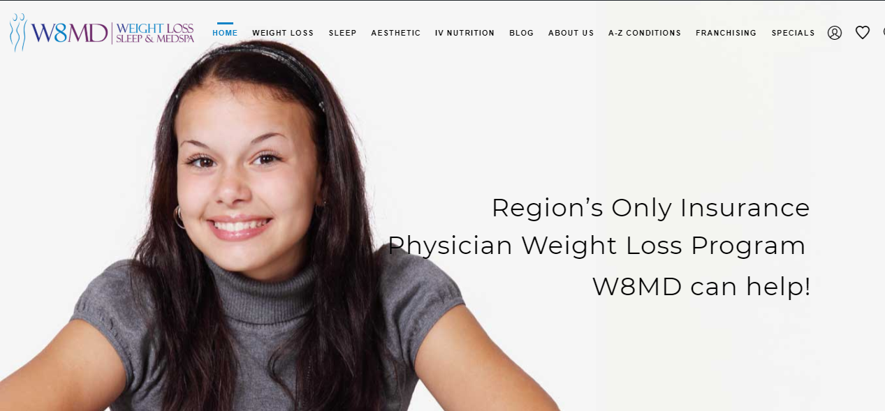 Lose Weight With W8md Weight Loss Sleep Medspa Centers