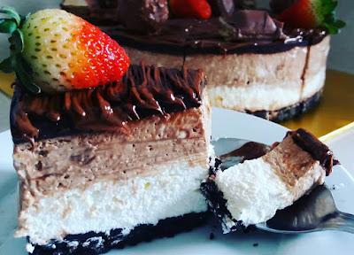 Resepi Kek Cheese Nutella Langkah Demi Langkah