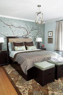Decor   Blue Is Calming And Comforting Colors For Wall Decorating 5