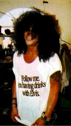 Follow me I'm having drinks with Elvis t-shirt