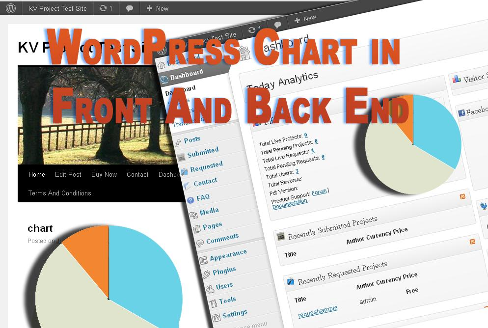 WordPress Use Chart in Front and Back End Using Chart js ~ My WP