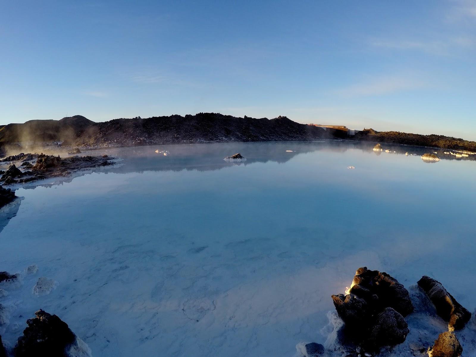 Blue Lagoon zimą