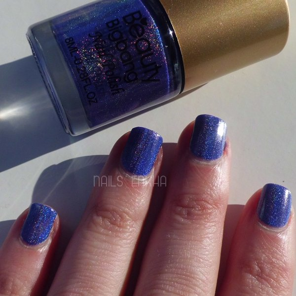 Purple Holografic Nail Polish