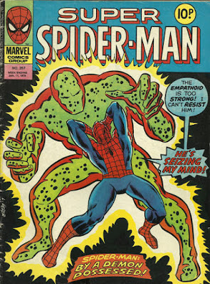 Super Spider-Man #257, the Empathoid