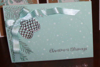 Stampin' Up! UK Independent  Demonstrator Susan Simpson, Craftyduckydoodah!, Christmas Pines, November Coffee & Cards Project 2017, Supplies available 24/7 from my online store,