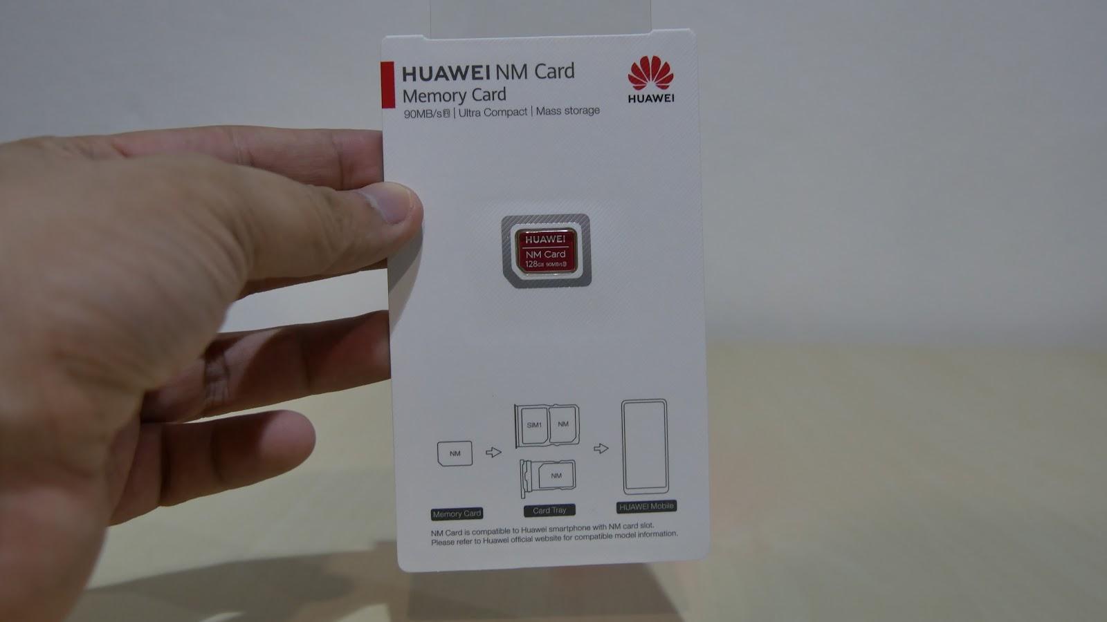 รีวิวการ์ดความจำ Huawei NM Card ที่เกิดมาคู่กับ Mate 20 Series
