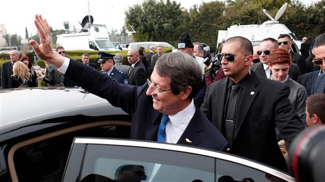 Cypriot President Nicos Anastasiades re-elected with eyes on new peace push